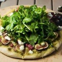 Fresh Fig and Soppressata Pizza