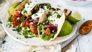 Healthy Ground Turkey Tacos w/ Smoky Homemade Seasoning