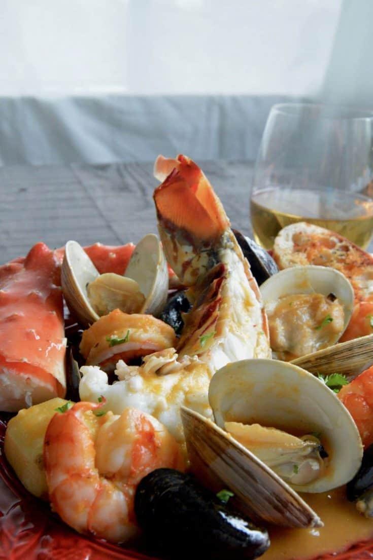 Fancy Bouillabaisse! Seafood Stew !