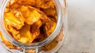 Dehydrated Tajín Mangoes