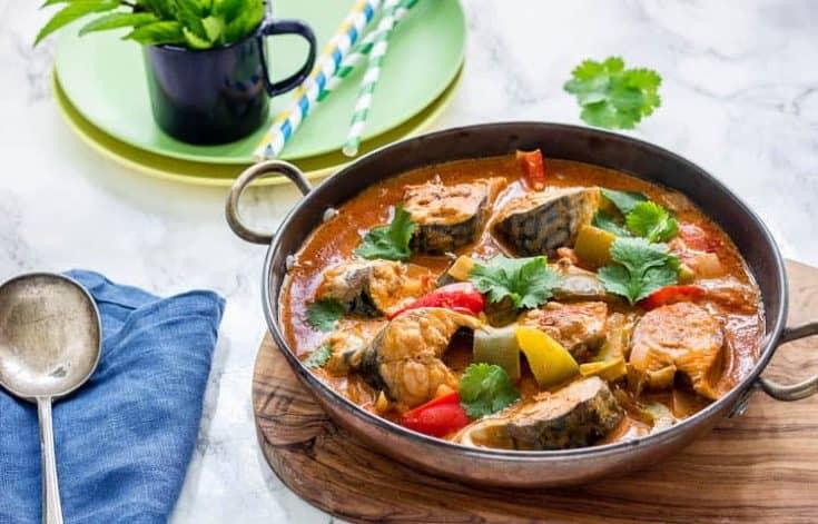 Brazilian Fish Stew aka Moqueca Baiana
